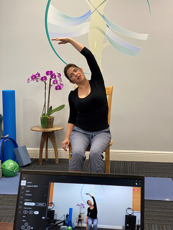 Virtual Pilates with Roxy