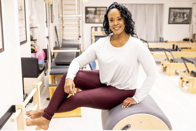 Pilates Instructor Gail Forrester at Myofascial Healing Center